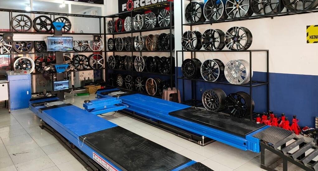 Toko Spooring Balancing HSR Wheel