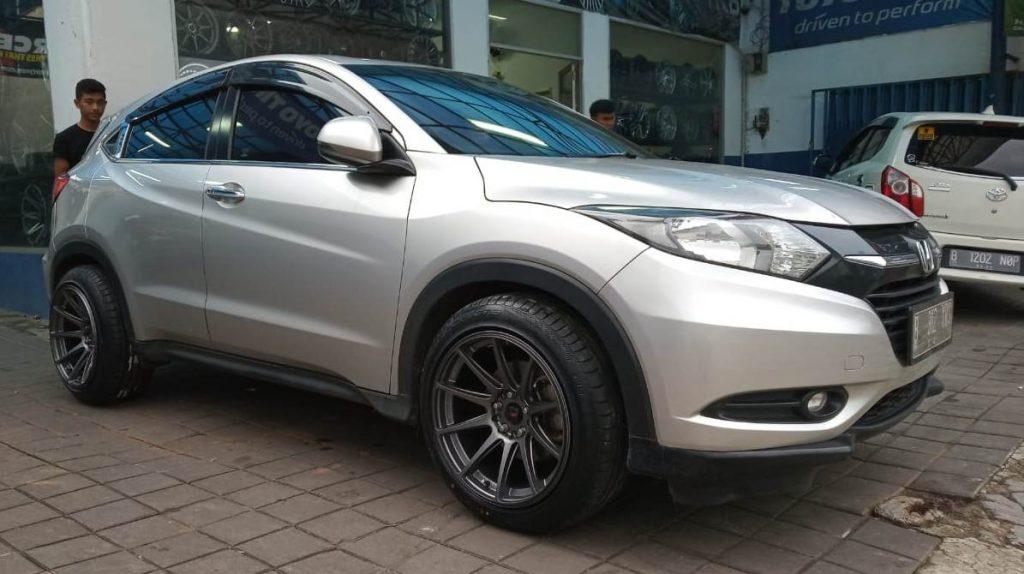 Honda HRV Pasang Velg Hsr Wheel Ring 18