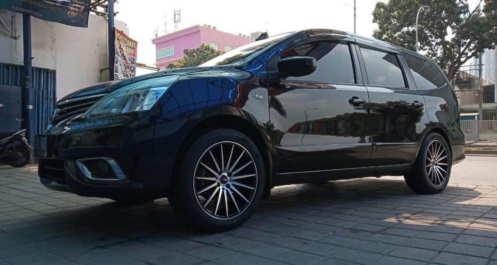 Nissan Livina Ganti Velg Dan Ban Di Bsd rims center