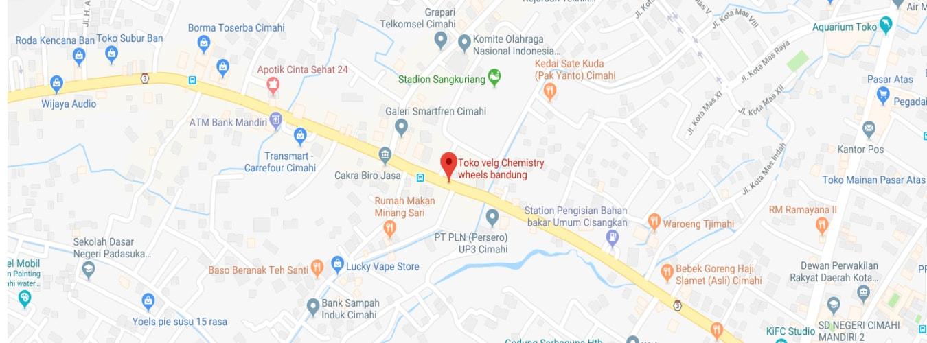 Map Lokasi Chemistry Wheel