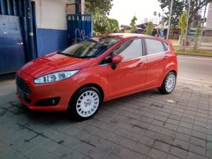 Ford Fiesta Modifikasi Velg Rally HSR Ring 16