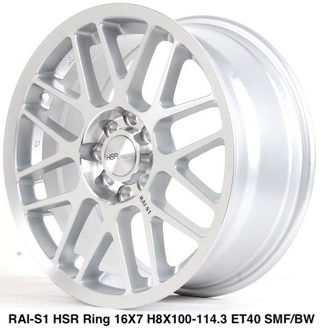 RAI-S1 HSR R16X7 H8X100-114,3 ET40 SMF