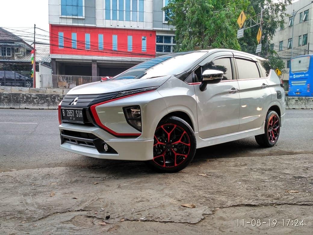 Xpander Modif Velg HSR Ring 18 Toko Velg Bekasi