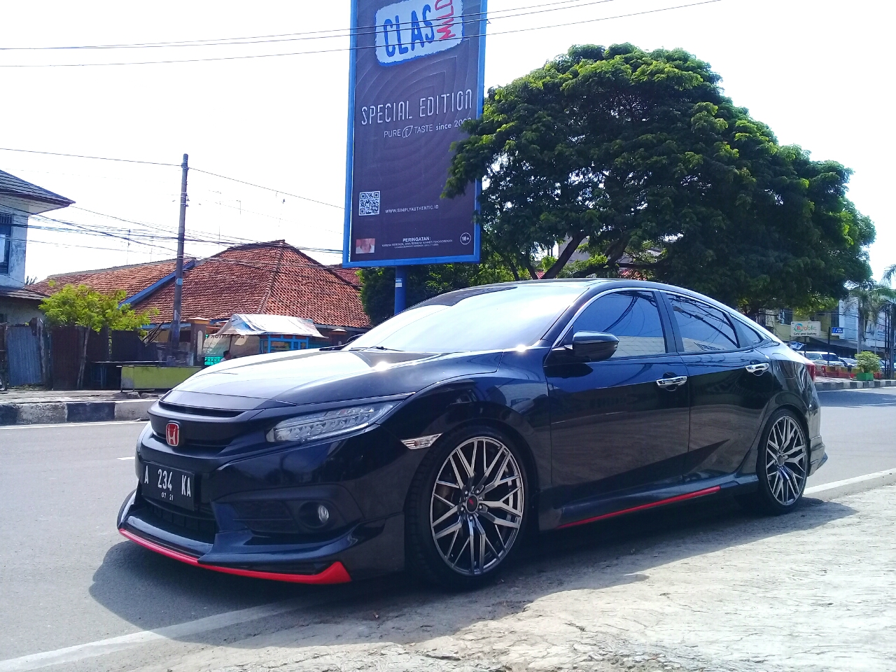 Civic Turbo Modif Velg Ring 20 Tampil Sporti