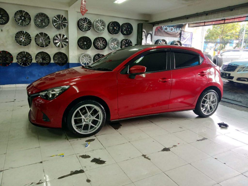 Modifikasi Velg Mobil Mazda 2 Toko Pelek Medan Satria