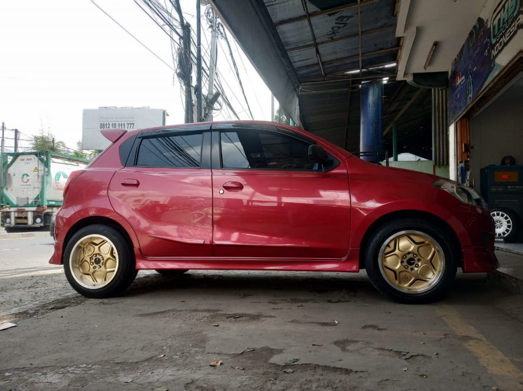 Modifikasi Velg Mobil Datsun Go Velg Celong Ring 16