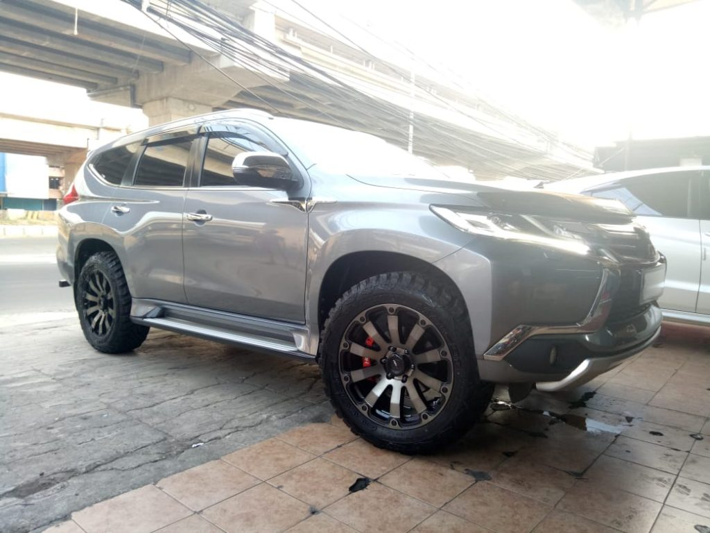 Modifikasi Velg Pajero Sport Ring 20 Sangar