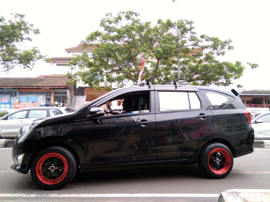 Penampakan Velg Toyota Calya Dengan Velg Hsr Rumoi Ring 15