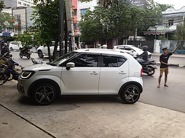 Tampilan Baru Suzuki Ignis Sport Pakai Velg Ne5 Hsr Rig 16