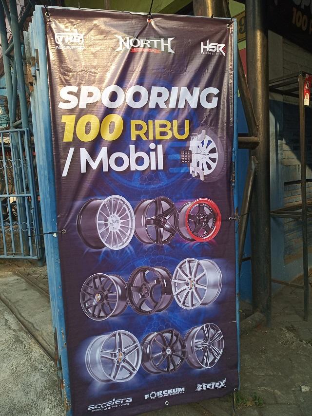 promo spooring toko north motor sport malang jawa timur