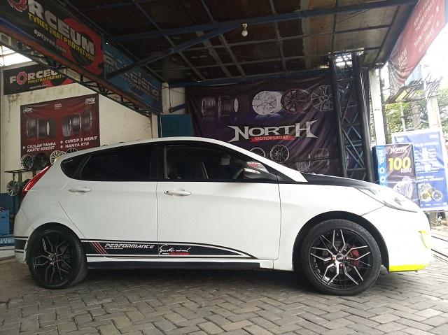 Modifikasi Hyundai Avega Malang Ganti Velg Botawa HSR Ring 16