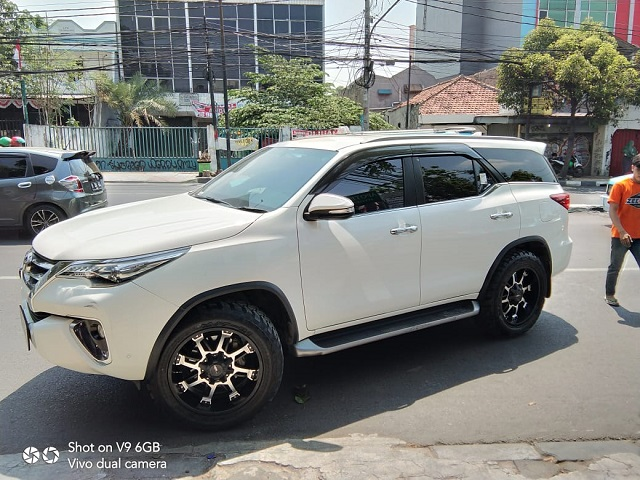 Modifikasi Fortuner Ring 20