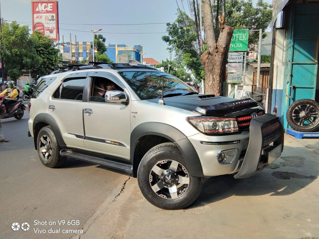 Modifikasi Fortuner Ring 17