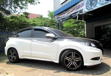 Honda HRV Pakai Velg Leaf HSR Ring 18