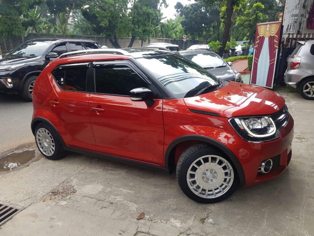Suzuki Ignis Pakai Velg Mobil R16 Hsr Rally R16 Di Jakarta