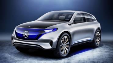 Mercedes EQS Crossover Elektrik Paling Baru!