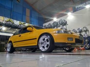 Modifikasi Civic Genio 1600 cc 4 Silinder
