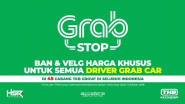 Grab Stop, Harga Khusus Velg & Ban Untuk Driver Grab Car
