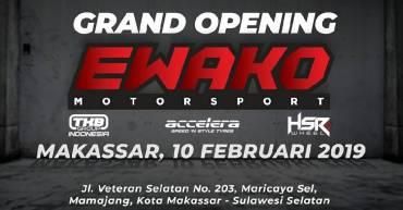 Opening EWAKO Motor Sport, TKB MAKASSAR