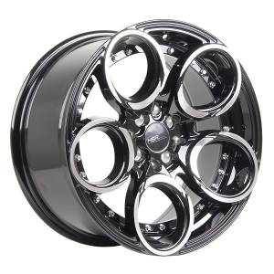 HSR Circle L1539 Ring 17x7,5-8,5 H8x100-114,3 ET40-35 Black Machine Face3