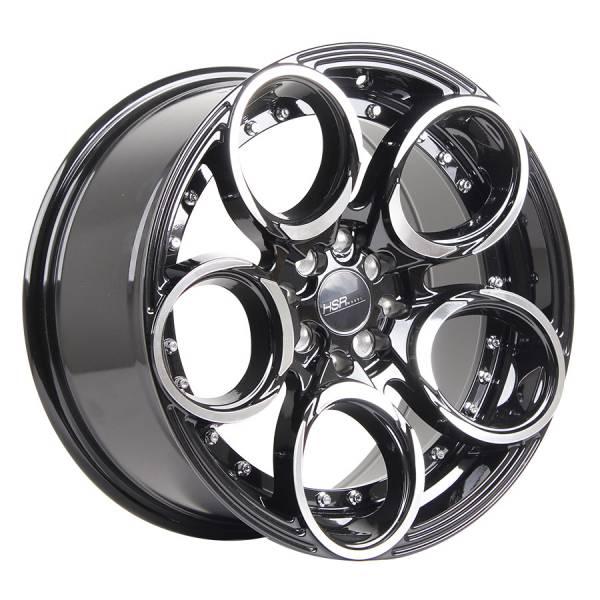 HSR Circle L1539 Ring 17x7,5-8,5 H8x100-114,3 ET40-35 Black Machine Face3