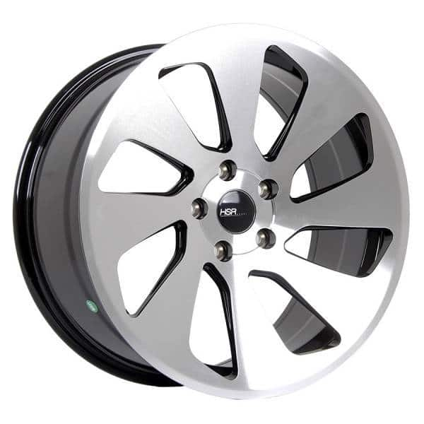 HSR Amaze WA025 Ring-18x85 H5x114,3 ET38 Black Machine Face