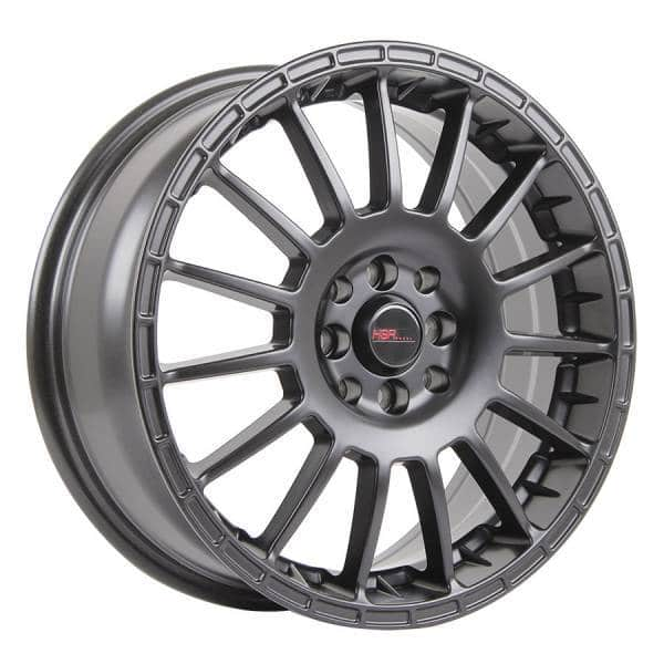 HSR Arrow JD803 Ring 17x7 H8x100 114,3 ET45 Semi Matte Black