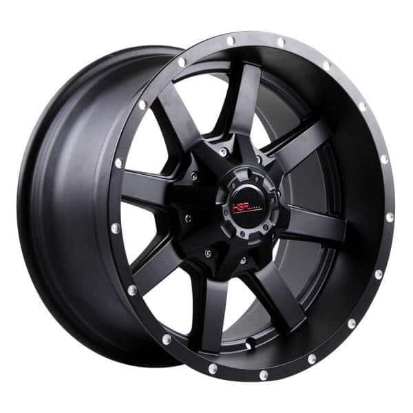 HSR Banteng L408 Ring 17x9-H6x139,7 ET0 Semi Matte Black