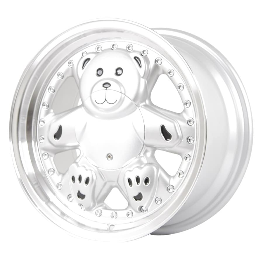 HSR Bear L1770 Ring 15x8 H8x100-114,3 ET25 Silver Machine Lips (2)