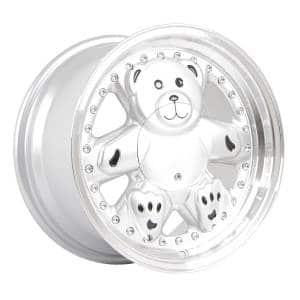 HSR Bear L1770 Ring 15x8 H8x100-114,3 ET25 Silver Machine Lips
