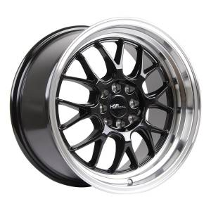 HSR Branch L1440 Ring 17x8-9 H8x100-114,3 ET35-30 Black Machine Lip3