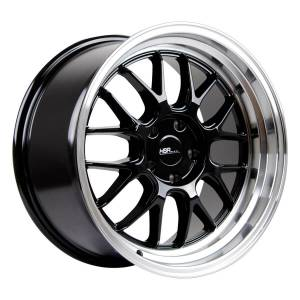 HSR Branch L1440 Ring 18x8,5-9,5 H5x114,3 ET35-30 Black Machine Lip3
