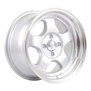 HSR Brisket JD5290 Ring 15x7-8 H4x100 ET40-33 Silver Machine Lip