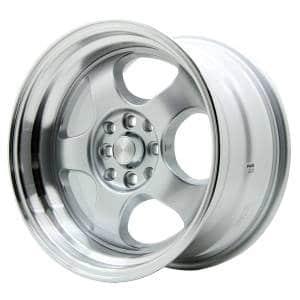 HSR Brisket JD5903 Ring 16x7-8,5 H8x100-114,3 ET40-35 Silver Machine Face1