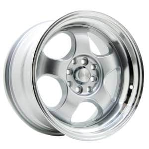 HSR Brisket JD5903 Ring 16x7-8,5 H8x100-114,3 ET40-35 Silver Machine Face3