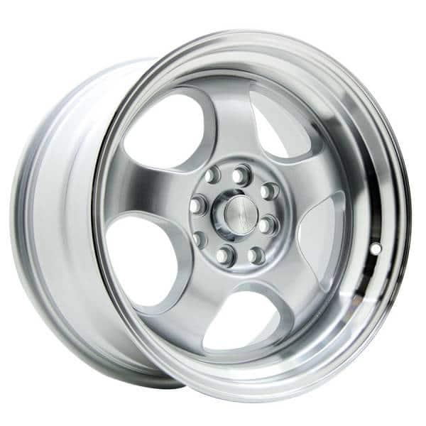 HSR Brisket JD5903 Ring 16x7-8,5 H8x100-114,3 ET40-35 Silver Machine Face3