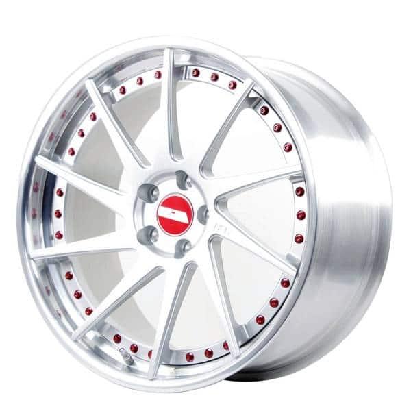 HSR FG-01 521 Ring 20x8,5-9,5 H5x112 ET40-45 Silver Machine Lip2
