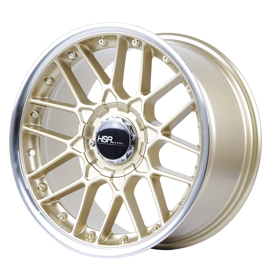 HSR Formula L1879 Ring 17x7,5-8,5 H8x100-114,3 ET30 Gold Machine Lip1