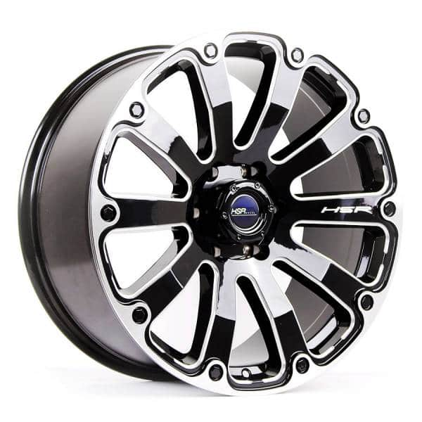 HSR Fortius PP02 Ring 20x9 H6x139,7 ET18 Gloss Black Milling Window