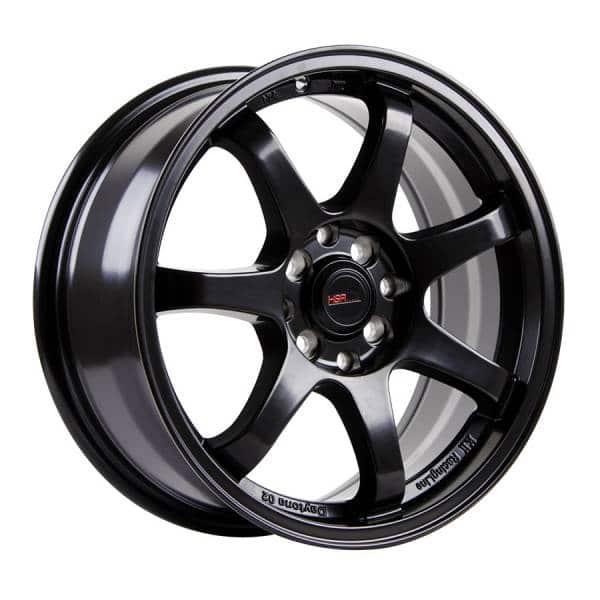 HSR GTR Sport 994Ring 16x7 H8x100-114,3 ET38 Semi Matte Black