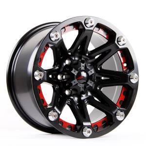 HSR JT814 838 Ring 17x9 H6x139,7 ET10-Semi Matte Black