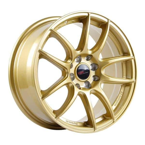 HSR Kamikaze 988 Ring 16x7 H8x100-114,3 ET38 Gold