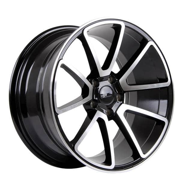 HSR Larantuka 719 Ring 18x8-9 H5x112 ET35-30 Black Machine Face3