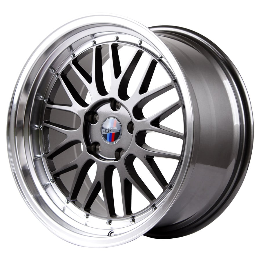 HSR Lemans 306 Ring 19x8-9 H5x120 ET35 Grey Machine Lip2