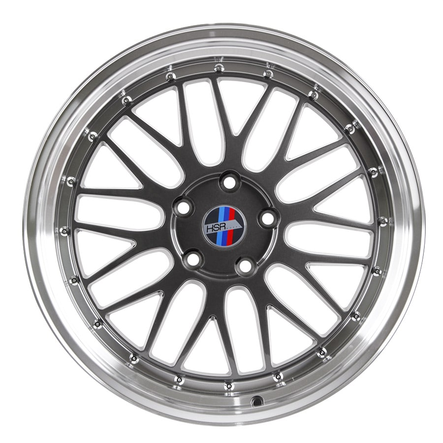 HSR Lemans 306 Ring 19x8-9 H5x120 ET35 Grey Machine Lip3