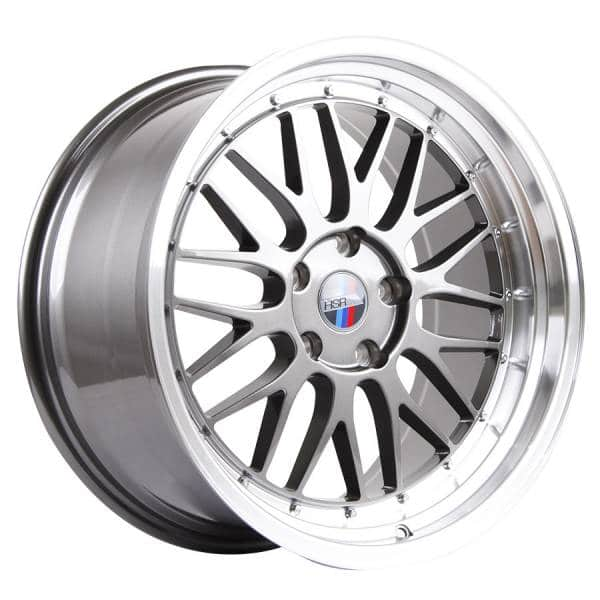 HSR Lemans 306 Ring 19x8-9 H5x120 ET35 Grey Machine Lip4
