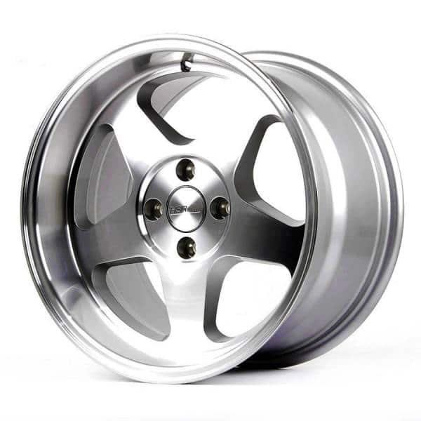 HSR Loud JD805 Ring 16x8-9 H4x100 ET35-30 Silver Machine Face Lips (2)