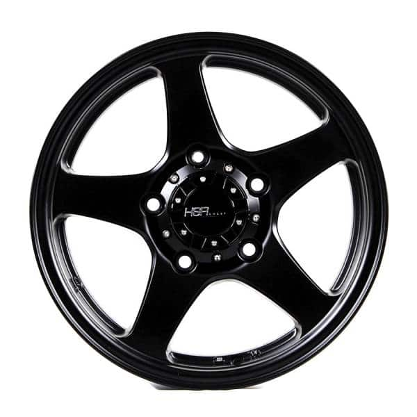 HSR Matrix JT5144 Ring 16x5,5 H5x139,7 ET22 Semi Matte Black (1)