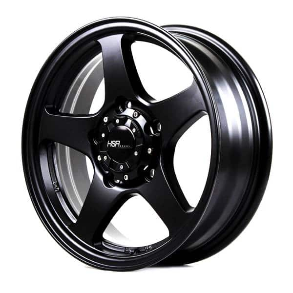 HSR Matrix JT5144 Ring 16x5,5 H5x139,7 ET22 Semi Matte Black (2)