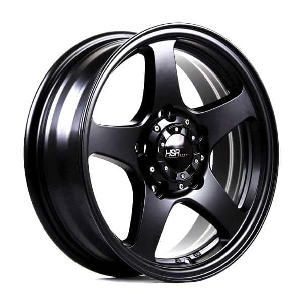 HSR Matrix JT5144 Ring 16x5,5 H5x139,7 ET22 Semi Matte Black
